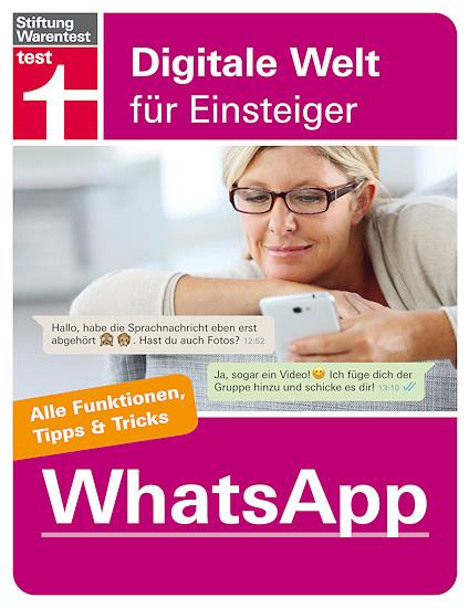 Cover: Stiftung Warentest - WhatsApp für Android und iPhone