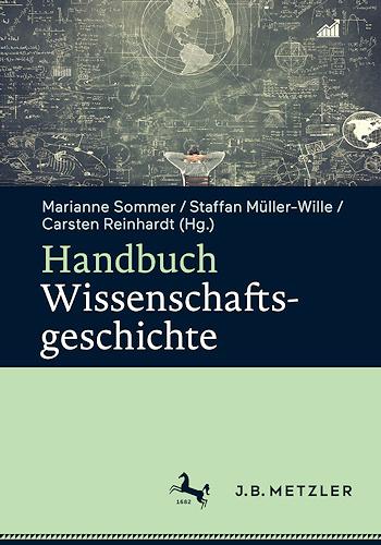 Cover: Handbuch Wissenschaftsgeschichte