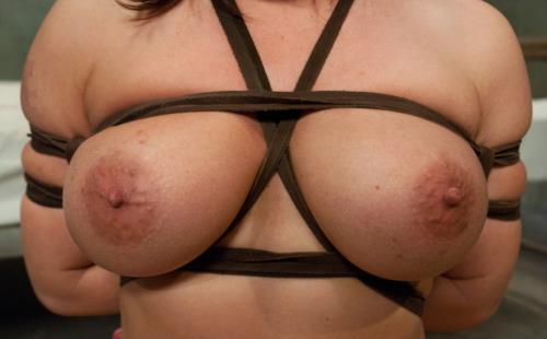 Katja Kassin - Slave Wife gets Double Stuffed in Bondage (HD)