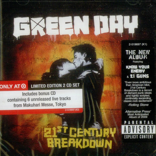 Green Day – 21st Century Breakdown (Target Limited Edition)