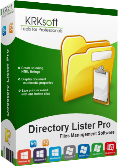 Directory Lister Pro v2.35 Enterprise Edition (x86-x64) + Portable