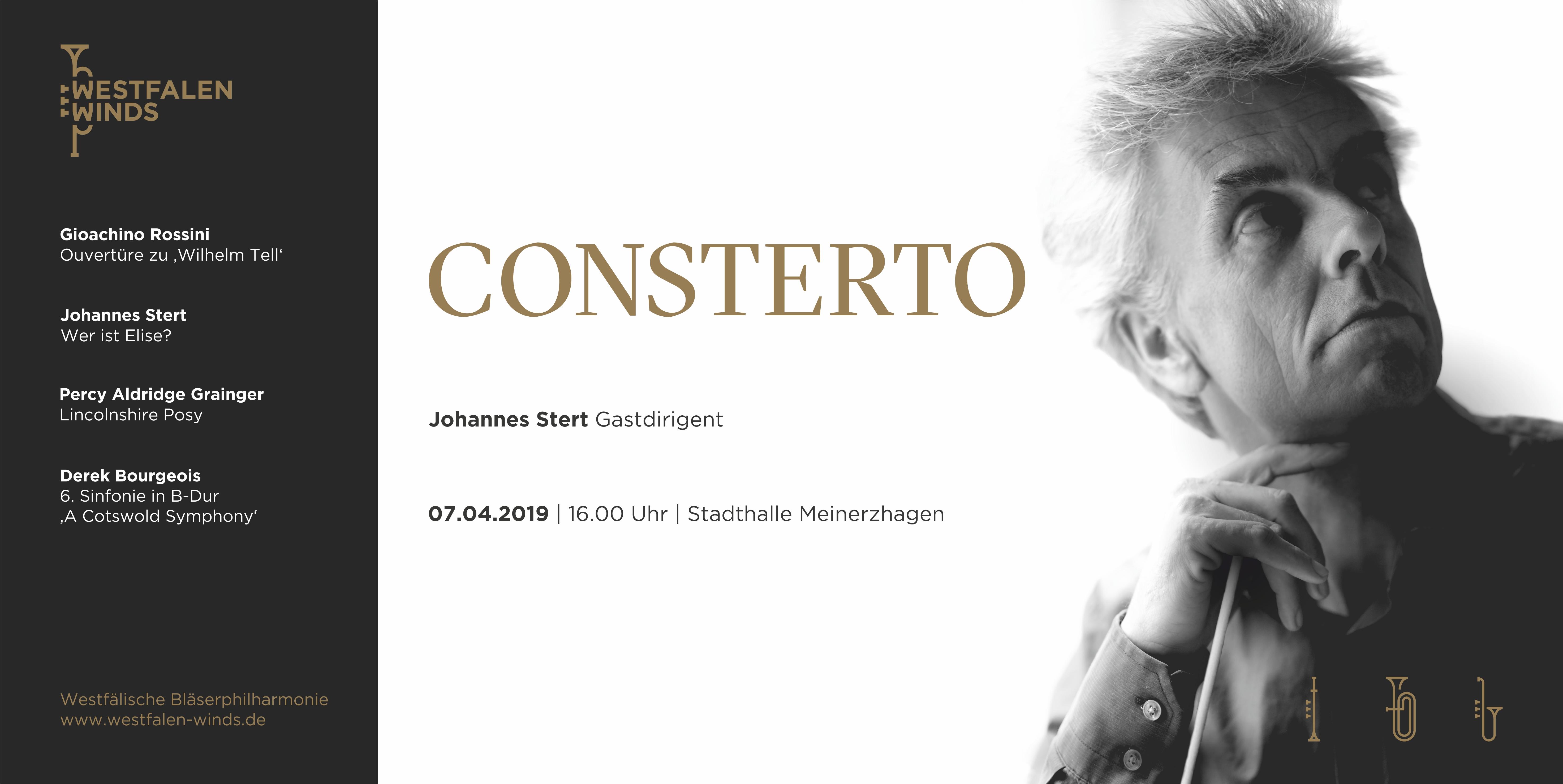 Consterto - Frühjahrsprojekt 2019 von Westfalen Winds