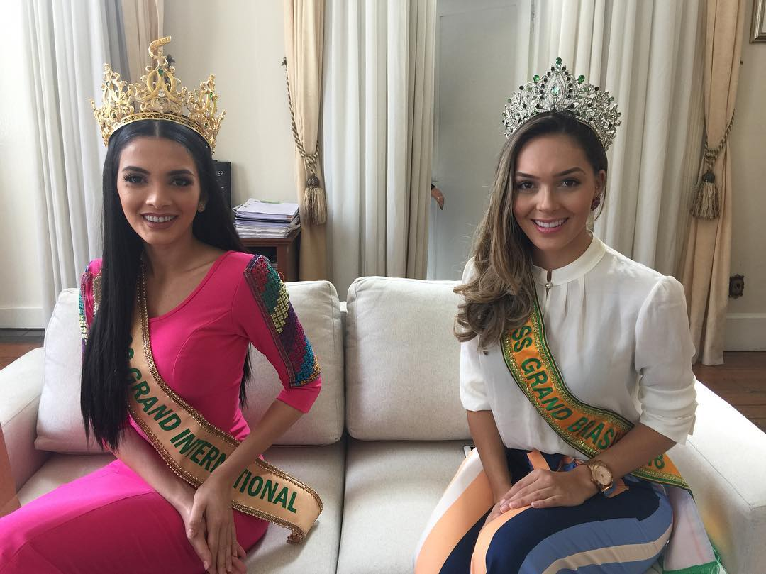 miss grand international 2018 visitando brasil para assistir a final de miss grand brasil 2019. Wr65qy33
