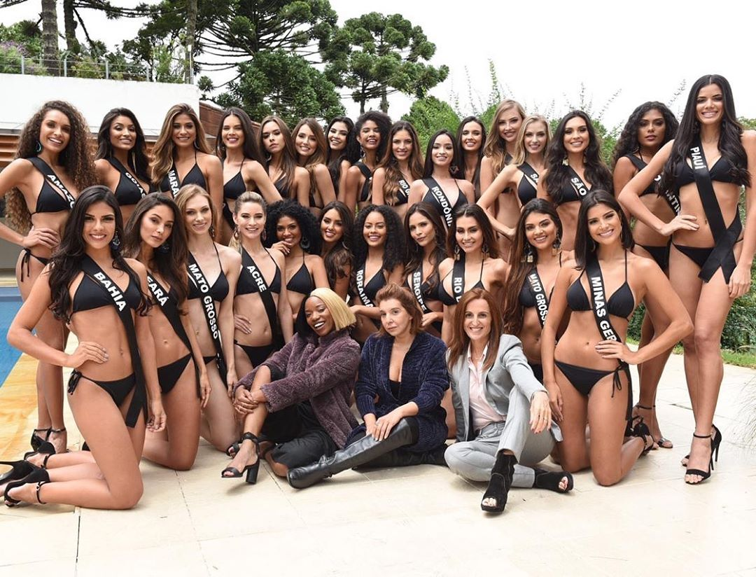 candidatas a miss brasil universo 2019 de bikini.  C3refhrl
